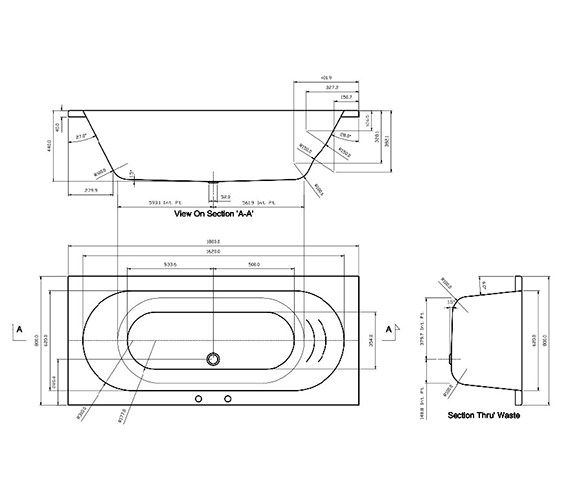 Technical drawing QS-V37490 / FLOBT303S3