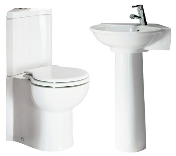 RAK Evolution Corner Cloakroom Suite