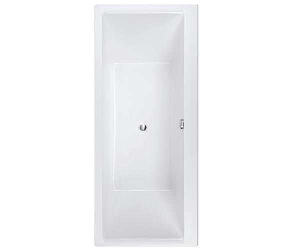 RAK Evolution Double Ended Easyflow Acrylic Bath 1750mm x 750mm
