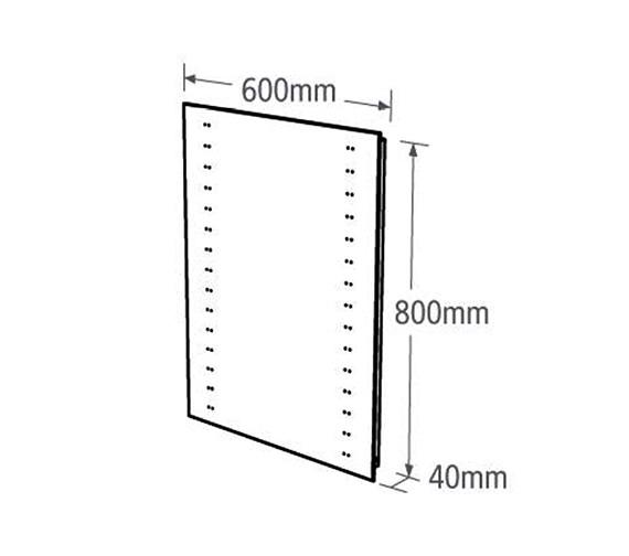 Technical drawing QS-V37758 / MLE310