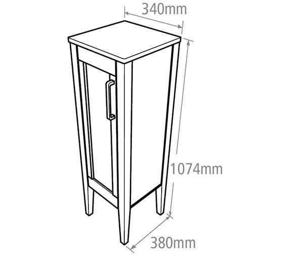 Technical drawing QS-V37764 / KRMFCAW