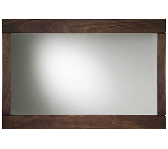 Roper Rhodes Karma Walnut Framed Mirror 900mm