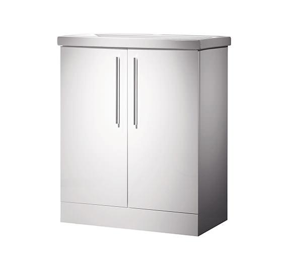 Roper Rhodes Envy 700mm White Floorstanding Unit And Basin