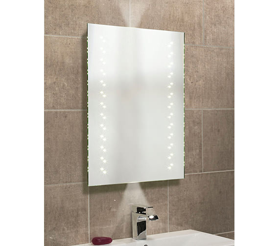 Roper Rhodes Escape LED Mirror With Infra Red And Ambient Lighting