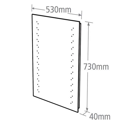 Technical drawing QS-V37777 / MLE360