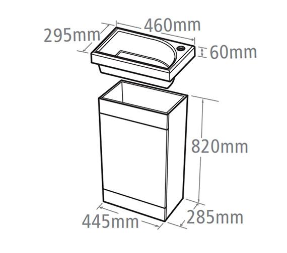 Technical drawing QS-V37778 / ESVB45AW