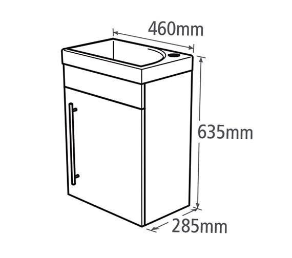 Technical drawing QS-V37781 / ESWM45G