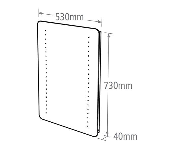 Technical drawing QS-V37790 / MLE320