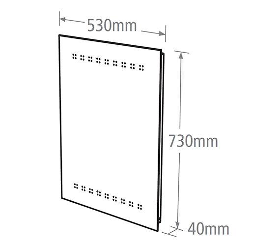 Technical drawing QS-V37793 / MLE300