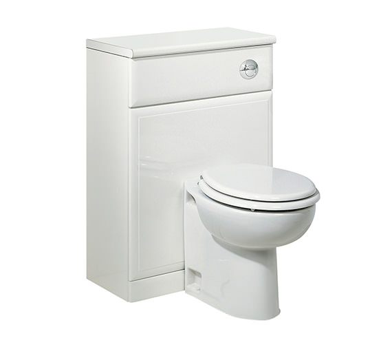 Roper Rhodes Valencia 620mm White Back To Wall WC Unit