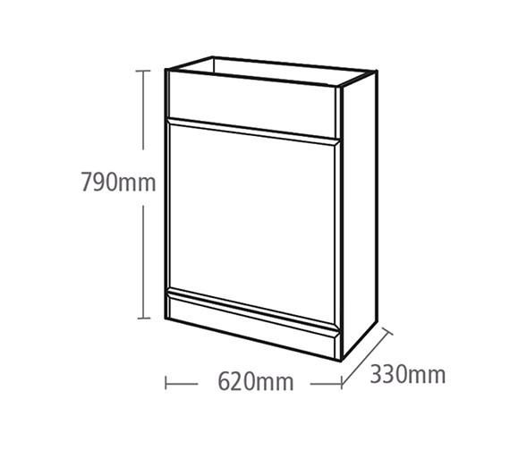 Technical drawing QS-V37800 / V79BTW