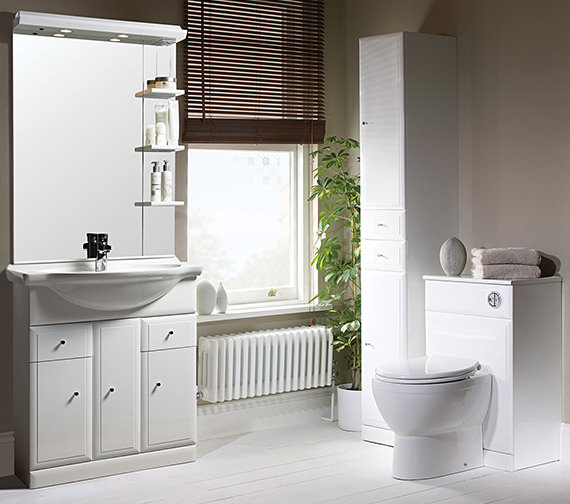 Additional image of Roper Rhodes Valencia 700mm Freestanding Unit Including Basin