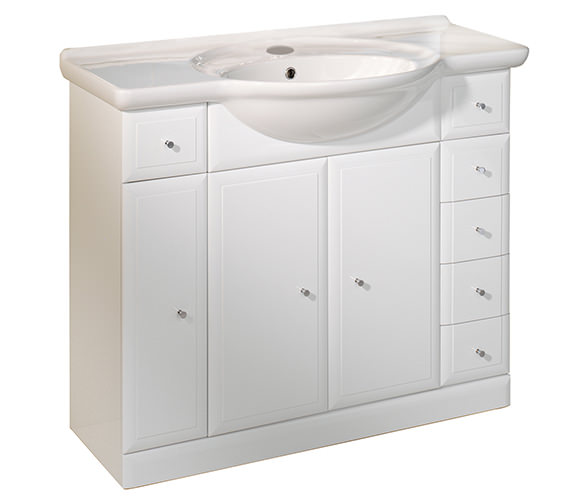 Roper Rhodes Valencia 1000mm Freestanding Unit Including Basin