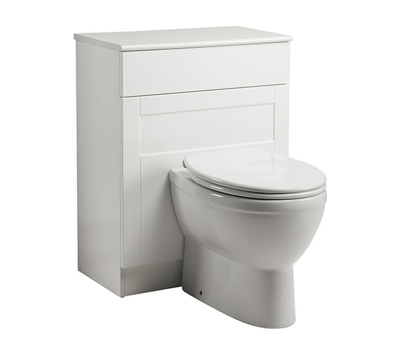 Roper Rhodes New England 620mm Back To Wall WC Unit White Image
