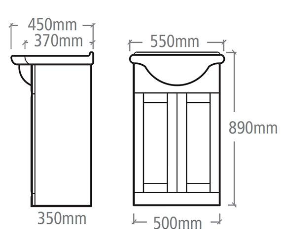 Technical drawing QS-V37836 / NVB5W