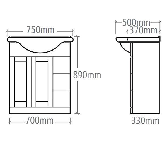 Technical drawing QS-V37840 / NVB7W