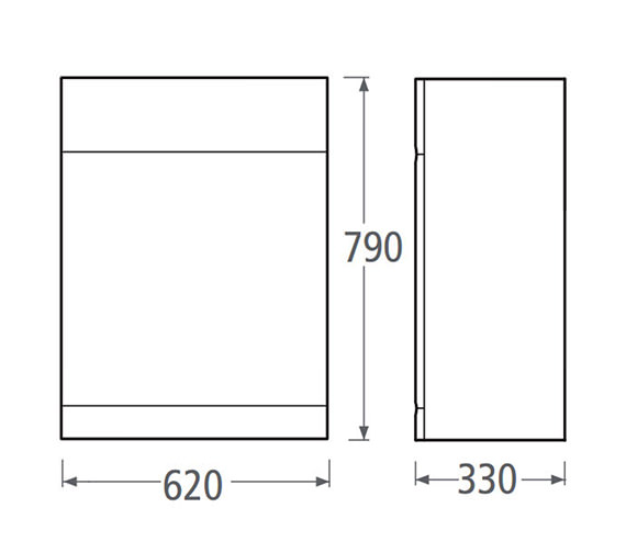 Technical drawing QS-V37873 / EL62BTWW