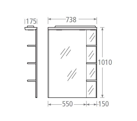 Technical drawing QS-V37893 / SGM7W