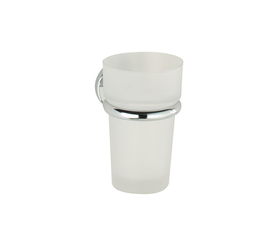Roper Rhodes Minima Frosted Glass Tumbler And Holder - 6916.02