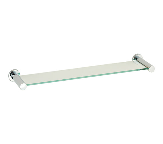 Roper Rhodes Minima Toughened Clear Glass Shelf 545mm Wide - 6912.02