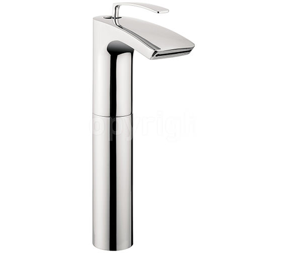 Crosswater Essence Tall Monobloc Basin Mixer Tap - ES112DNC Image