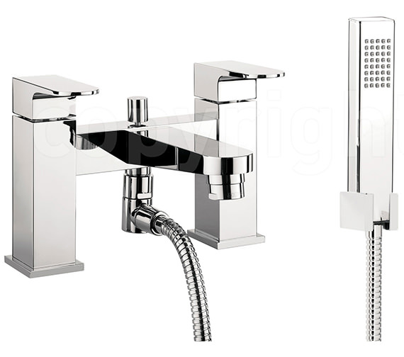 Crosswater Modest Bath Shower Mixer Tap With Kit - MO422DC