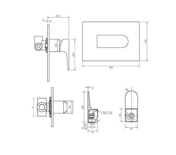 Technical drawing QS-V38022 / MO0004RC
