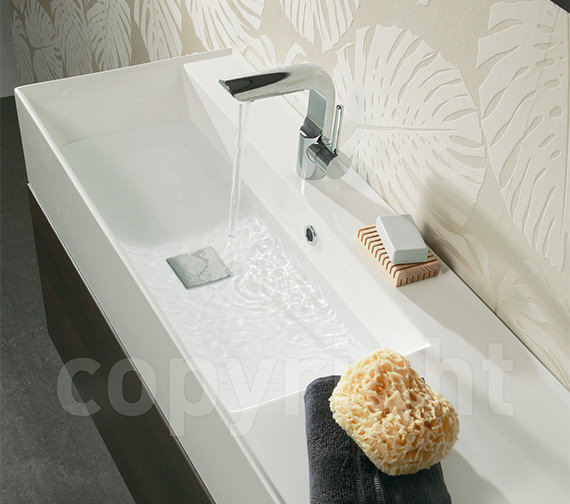 Additional image of Crosswater Elite Monobloc Basin Mixer Tap Chrome - EL110DNC