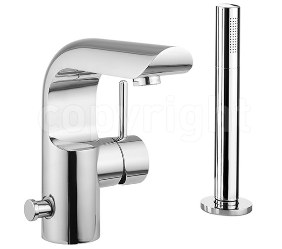 Crosswater Elite Monobloc Bath Shower Mixer Tap With Kit- EL410DC