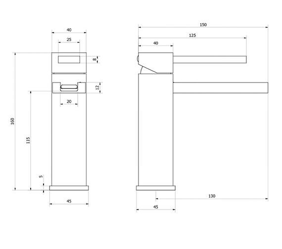 Technical drawing QS-V38069 / ZT110DNC