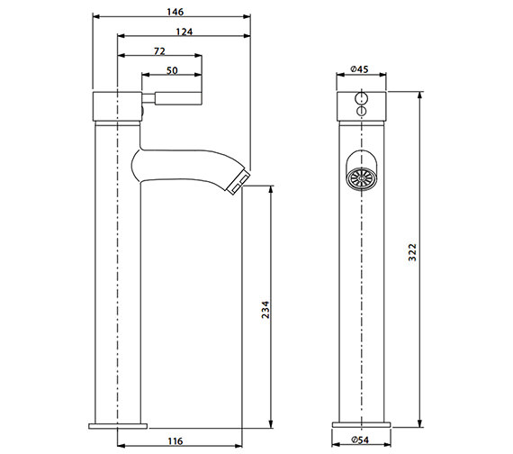 Technical drawing QS-V38140 / DE112DNC