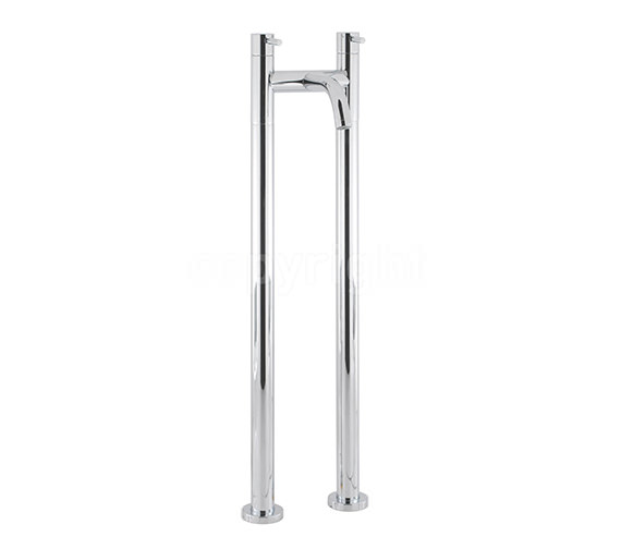 Crosswater Design Floor Standing Bath Filler Tap With Bath Legs