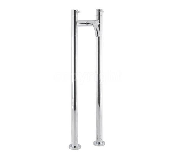 Crosswater Design Floor Standing Bath Filler Tap With Bath Legs