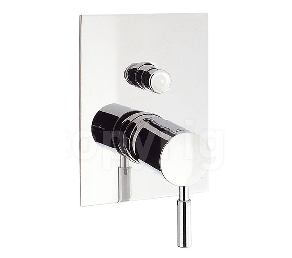 Crosswater Design Recessed Manual Shower Valve with Diverter