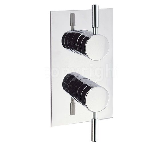 Crosswater Design Recessed Thermostatic Shower Valve Portrait