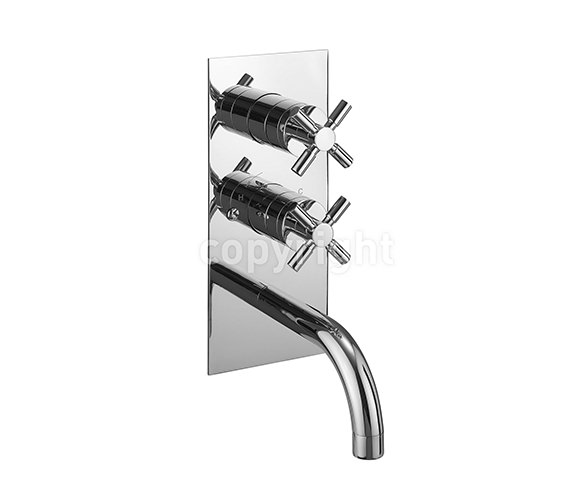 Crosswater Totti Thermostatic Shower Valve With Spout - TO1600RC