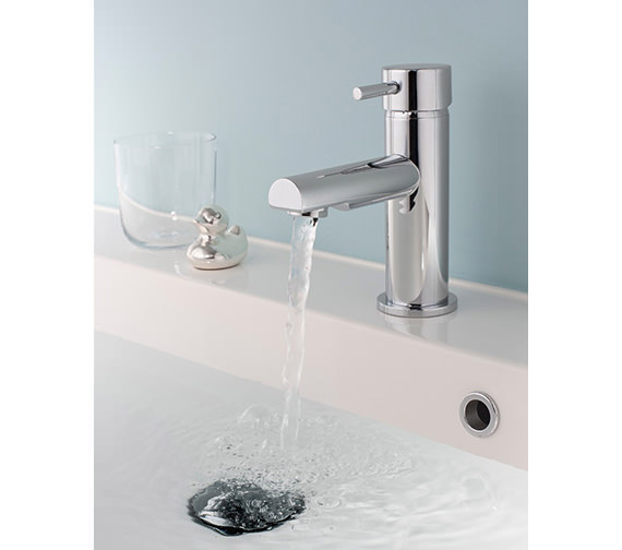 Additional image of Crosswater Kai Lever Monobloc Basin Mixer Tap With Pop-Up Waste