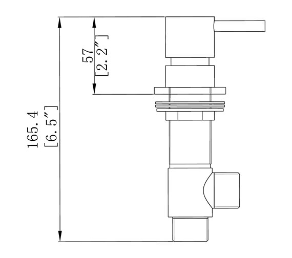Technical drawing QS-V38336 / KL350DC