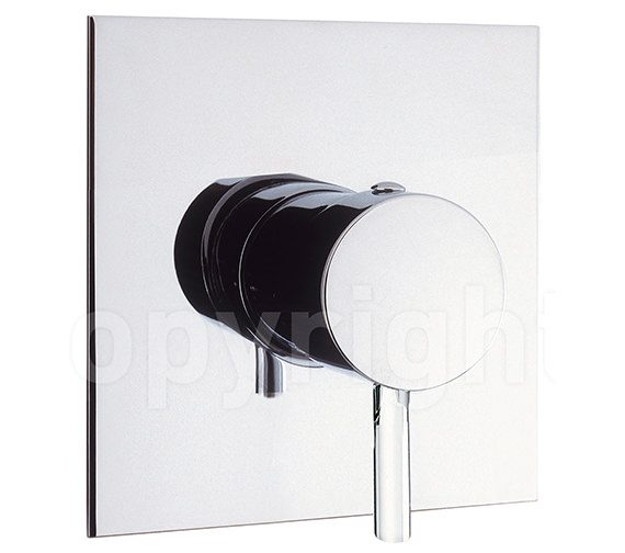 Crosswater Kai Lever Recessed Manual Shower Valve - With Or Without Diverter