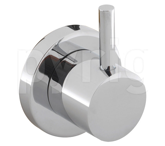 Crosswater Kai Lever 4 Way Wall Mounted Diverter Valve - KL0007WC