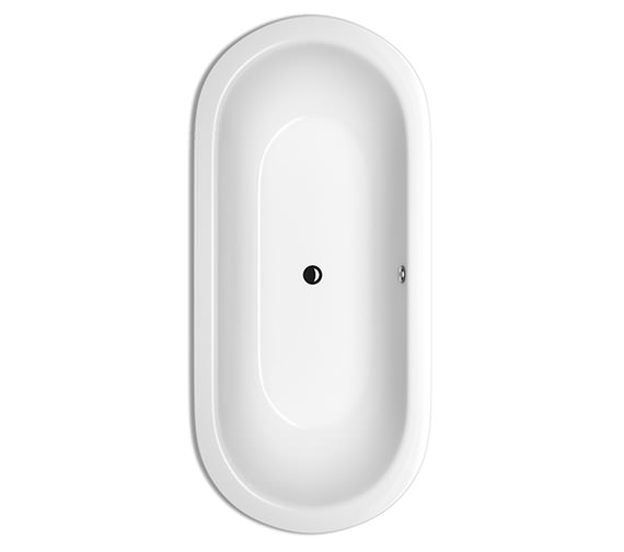 Bette STARLET Oval Super Steel Bath 1950 x 950mm - BETTE2745