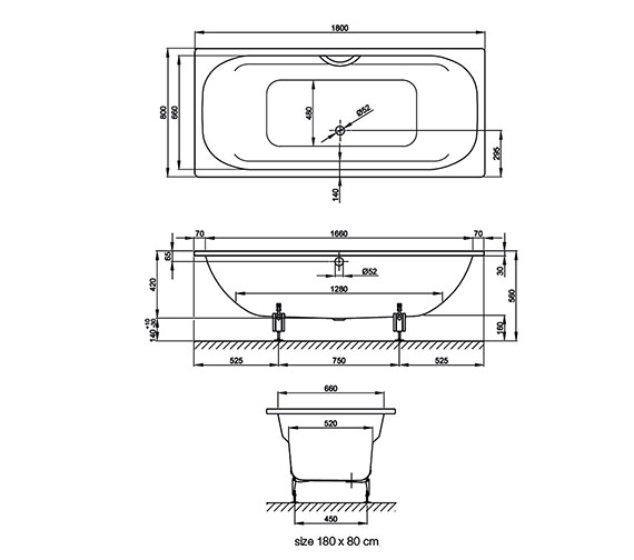 Technical drawing QS-V38428 / 3820 000