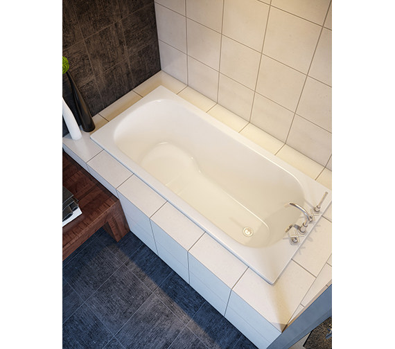 Bette Seat Rectangular Super Steel Bath 1500 X 700mm