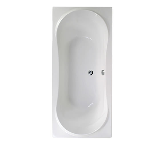 Aquaestil Apollo 1800 x 800mm Double Ended Bath - 154APOLLO1880
