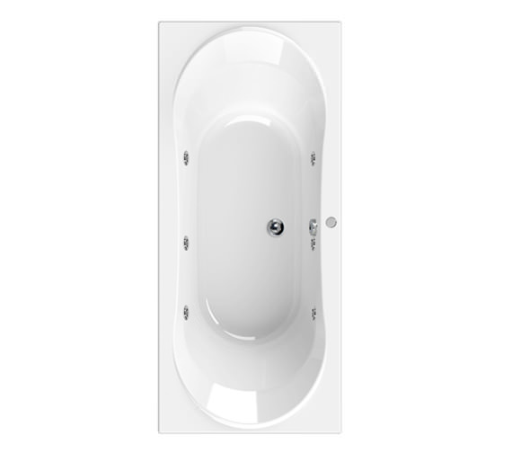 Aquaestil Apollo 1800 x 800mm 6 Jets Whirlpool Bath
