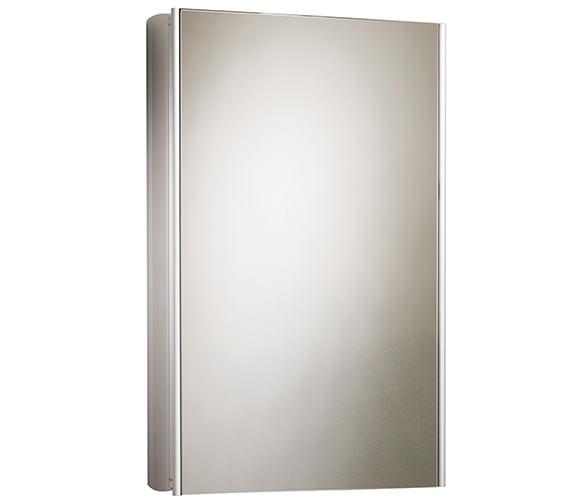 Roper Rhodes Equinox Single Mirror Glass Door Bathroom Cabinet 515mm