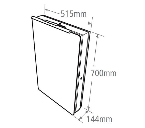 Technical drawing QS-V38493 / AS515ALP