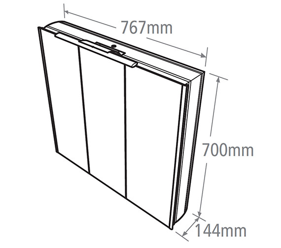 Technical drawing QS-V38495 / AS767AL