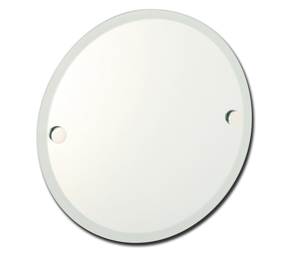 Roper Rhodes Lincoln Round Mirror With Frosted Edge - 73004.02