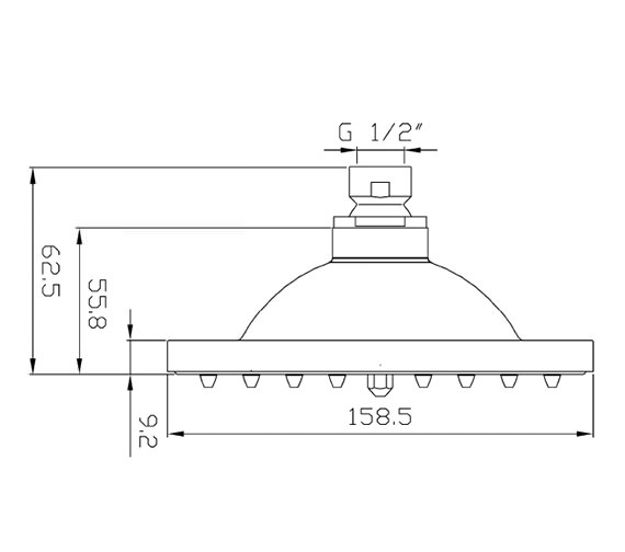 Technical drawing QS-V38624 / A304